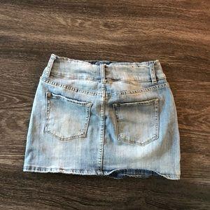 Design Lab Lord & Taylor Skirts - denim mini skirt